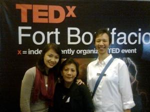 Ana at TEDx Fort Bonifacio