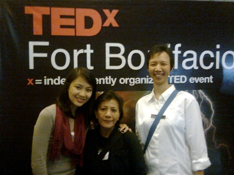 Ana at TEDx Fort Bonifacio