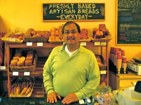 """Magsaysay """"Mags"""" Facultad, Pinoy baker in San Francisco"""